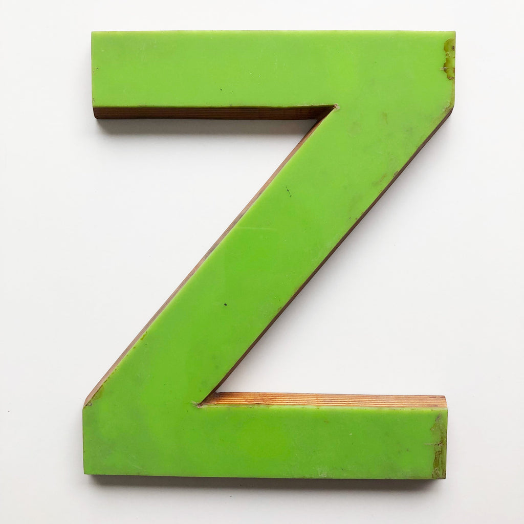 Z - Large Letter Ply and Perspex