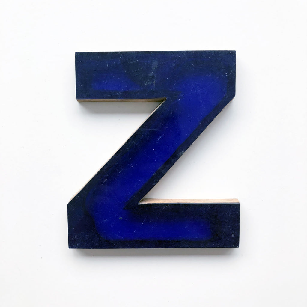 Z - Medium Letter Ply and Perspex