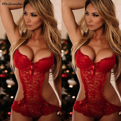 Hot Sale Sexy lingerie Sexy Nightwear Underwear Porn Sexy Lingerie Women Hot Erotic Baby Dolls Dress Women Teddy Lenceria
