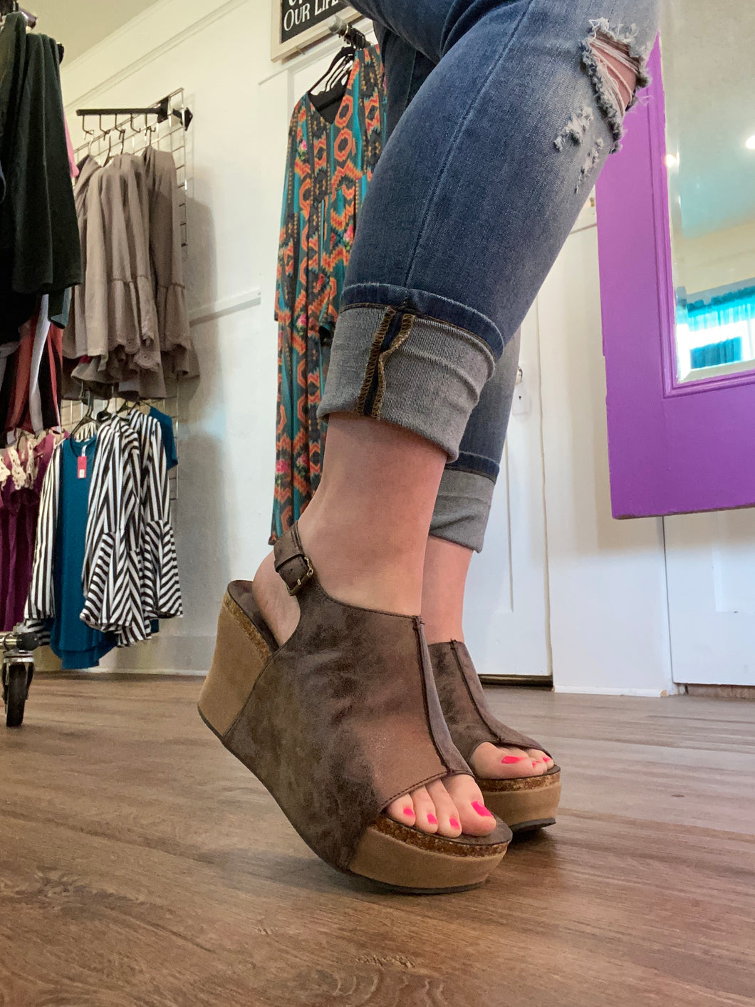 Bronze wedges