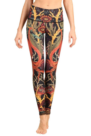 Octopus Garden Eco Yoga Leggings