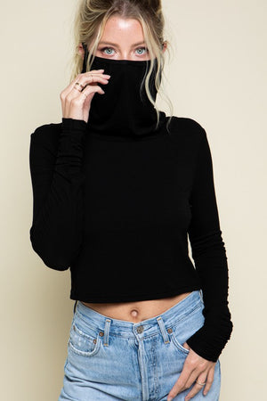 The Sabrina Turtleneck with Built-in Mask
