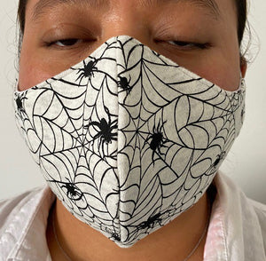 Halloween Spider Face Mask