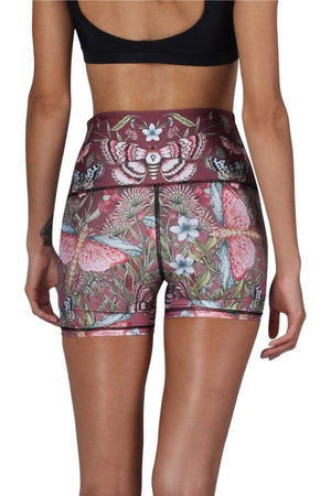 Mariposa Dreams Eco Yoga Shorts