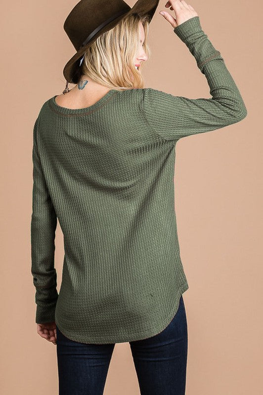 Back to Basics Rayon Waffle Thermal