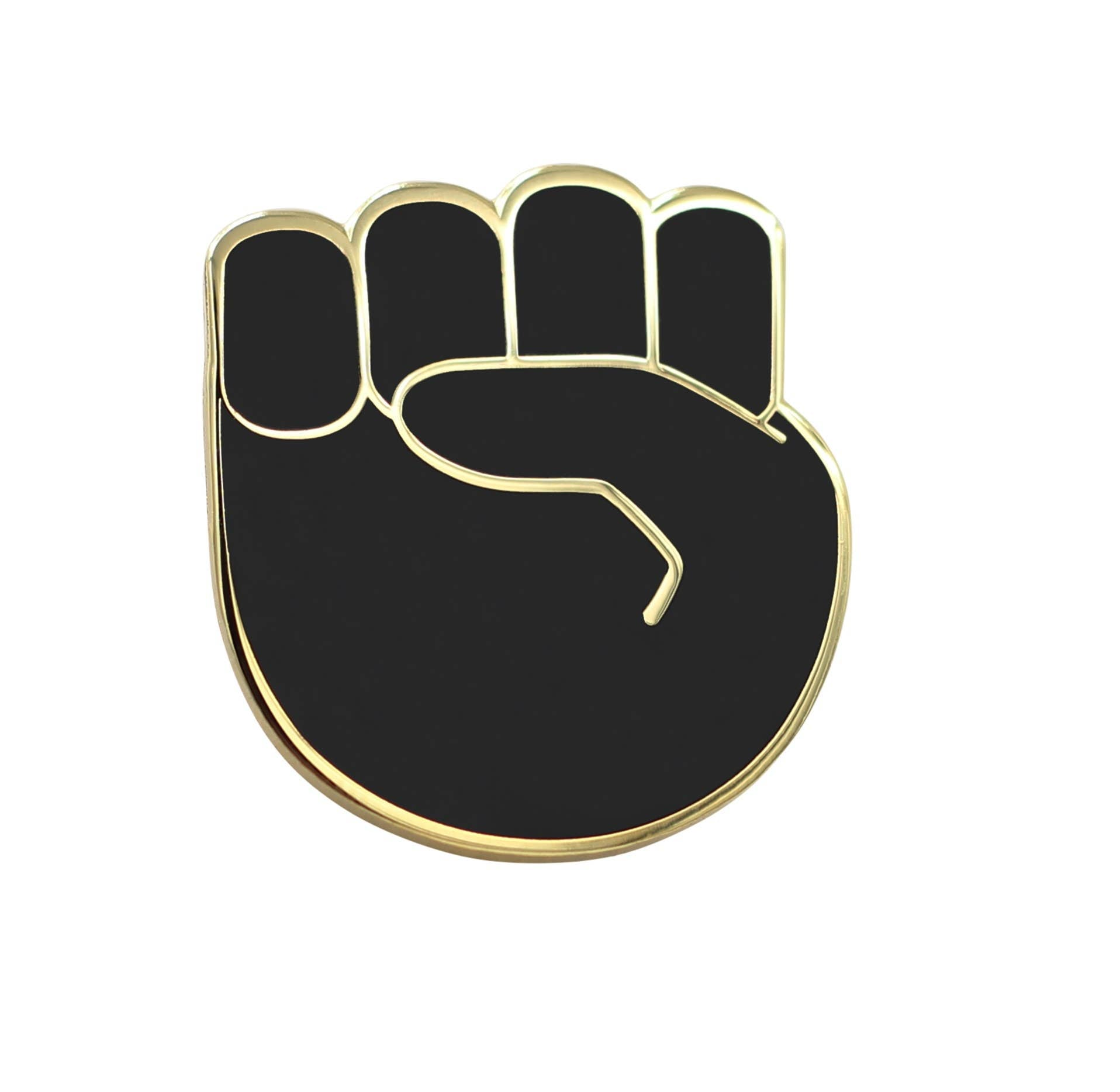BLM Raised Fist Pin