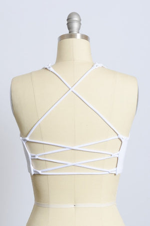 Criss-cross Crop Top