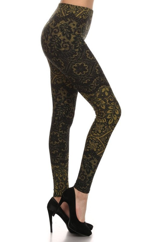 Floral Lace Leggings