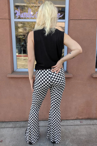 Checkered Bell Bottoms
