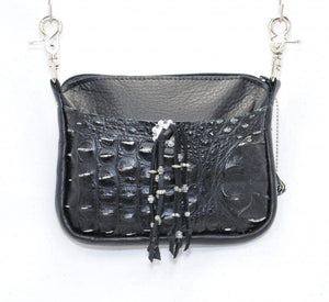 Black Gator Convertible Hip Bag
