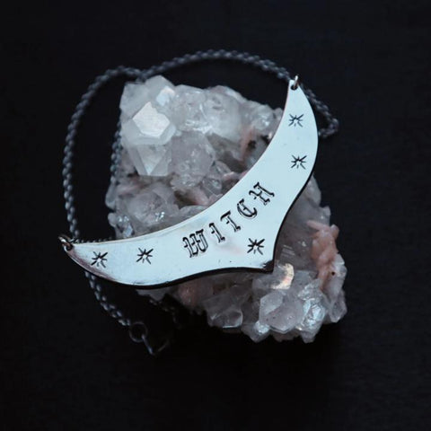 WITCH Plate Necklace