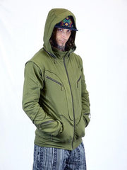 Organic Cotton Actias Hoodie - Funk & Flash