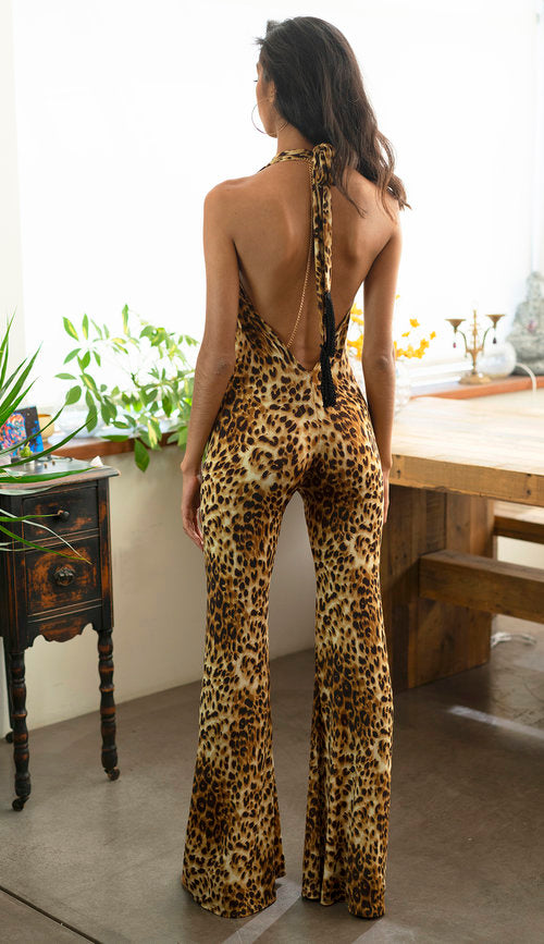 The Jumpsuit - Leopard Print