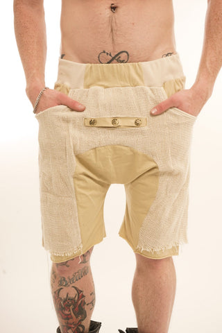 Mad Max Drop-Crotch Shorts