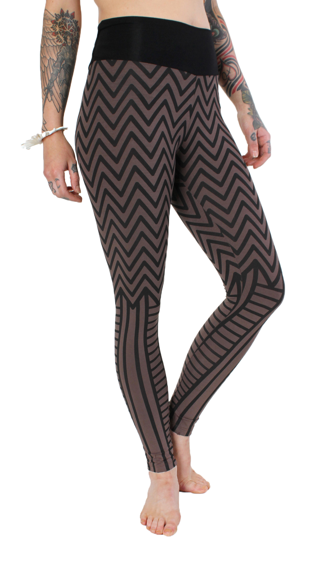 Kayo Chevron Leggings - Funk & Flash