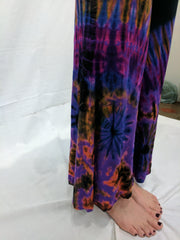 Tie dye flow pants by Purple Moon