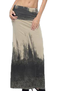 Wabi-Sabi Long Dress Skirt