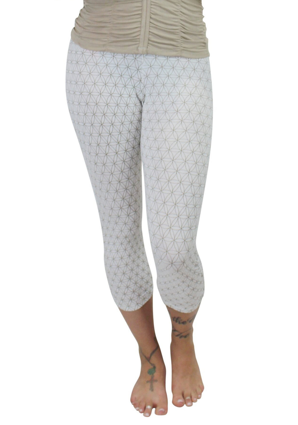 Flower of Life Dreamtime Capri Legging