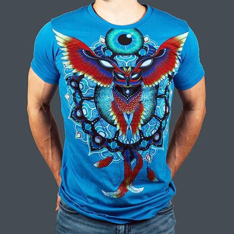 Liquid Dreams Phoenix Owl Tee