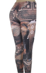 Tribal Elephant Leggings