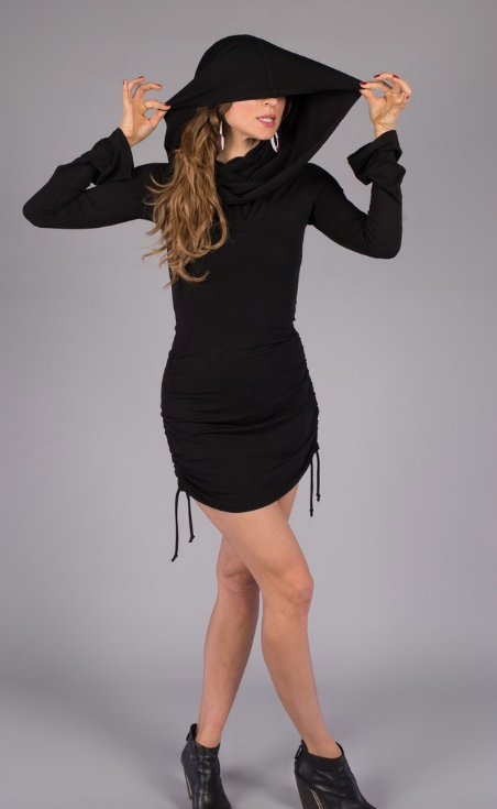 Bamboo Long-sleeved Huntress Cinch Dress