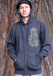Reflection Men's Zip-up Hoodie
