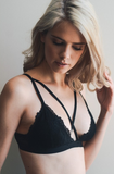 Cross Strap Lace Bralette