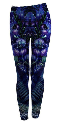 Gratitude Lotus Leggings