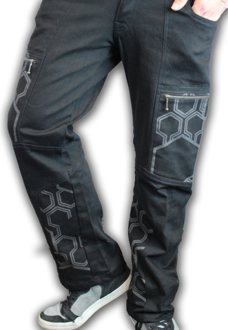 Hexagon Pattern VI Pants