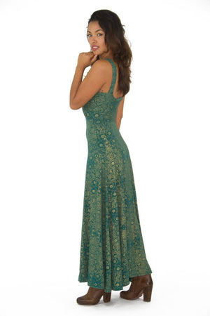 Natalia Botanical Maxi Dress