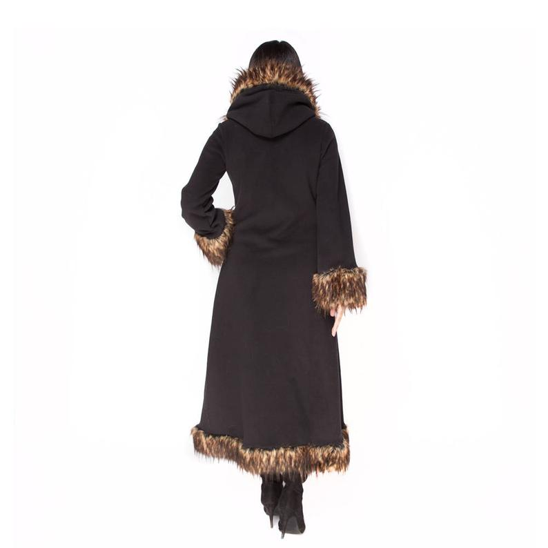 Black Minx Baroness Coat