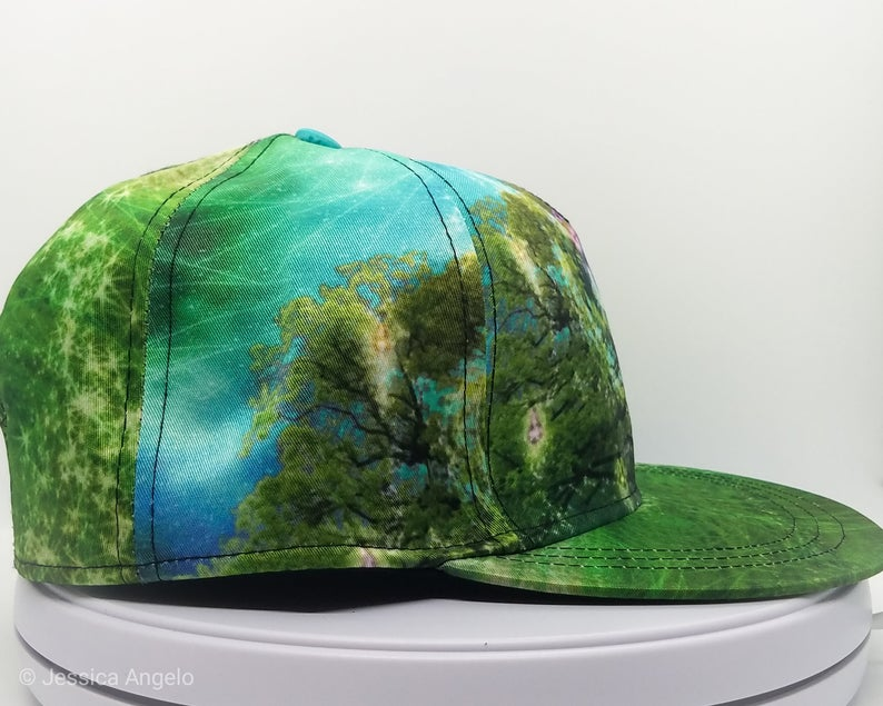 Third Eye Tree Snapback Cap
