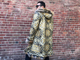 Golden Sultan Reversible Festival Coat UNISEX