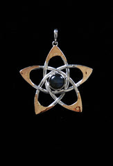 Sacred Star Pendant by Liquid Fire Mantra