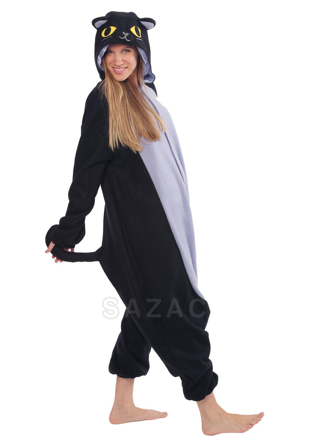 Black Cat Kigurumi