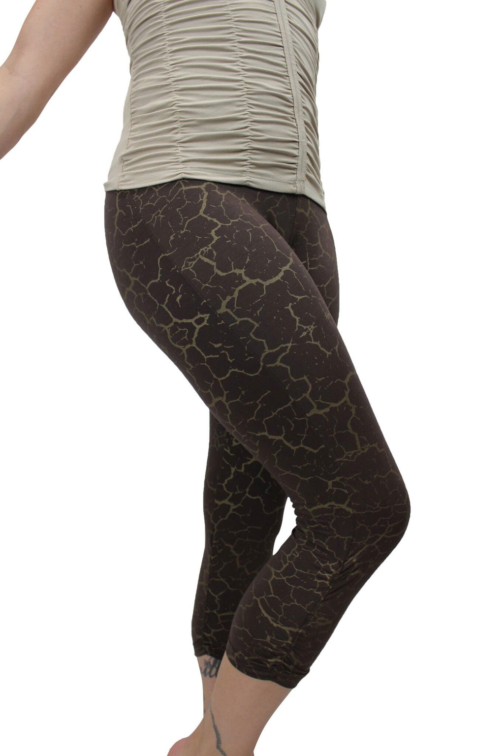 Playa Print Dreamtime Capri Legging