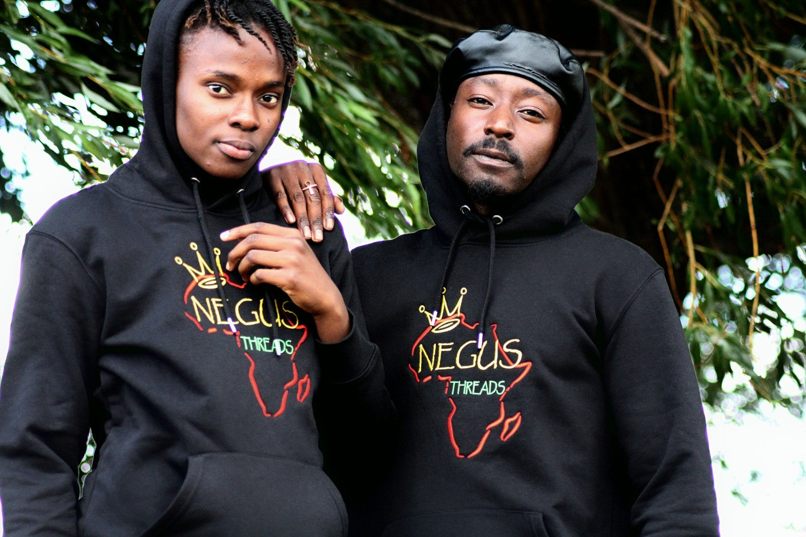 Negus Threads Original Hoodie in Black