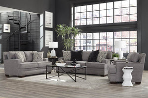 Toni Grey Sofa and Loveseat - United Furniture Outlet