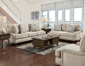 Katherine Gray Sofa and Loveseat