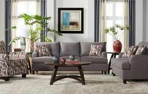Grey Image Carbon Sofa and Loveseat - United Furniture Outlet