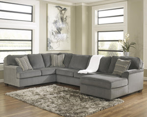 Loric Gray Sectional