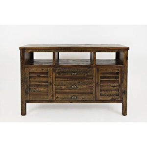 "Madison County Rustic Wood 70"" TV Stand - United Furniture Outlet"