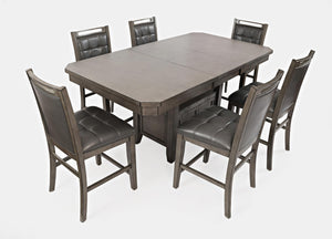 Manchester Grey Table with 6 Chairs