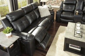Kempten Black Sofa and Loveseat - United Furniture Outlet
