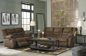 Tulen Brown Sofa and Loveseat - United Furniture Outlet