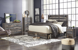 Drystan 7 Piece Queen Bedroom Set (With Storage) - United Furniture Outlet