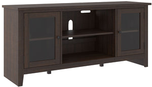 Camiburg Brown TV Stand
