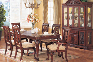 Cherry Dining Table with 6 Chairs