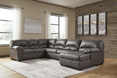 Aberton Grey Sectional