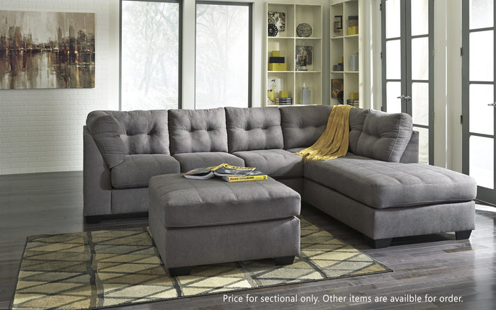 Maier Grey Sectional with Chaise